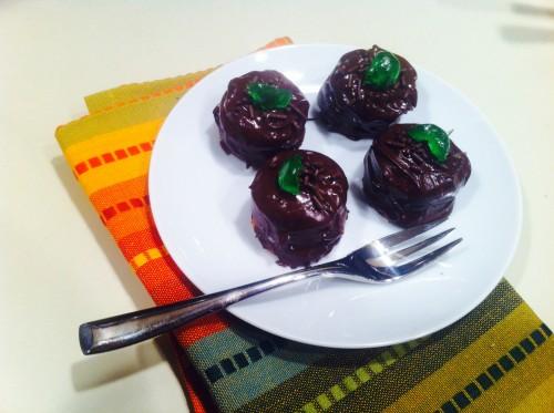 Nilla wafer chocolate petite fours
