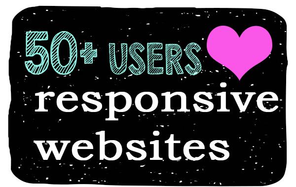 responsive websites for seniors