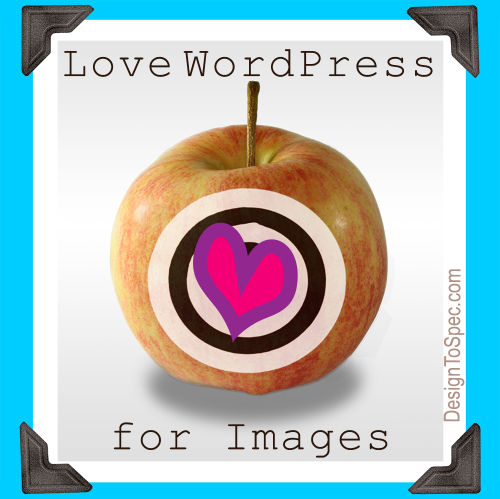love wordpress for images