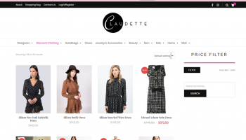 claudette-website